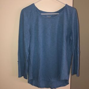 Chico's light blue top